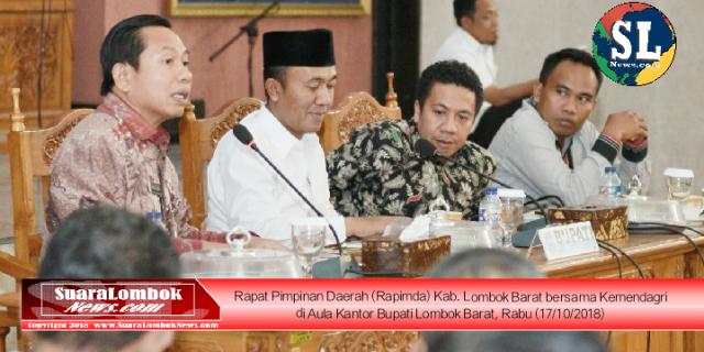 Ini Alasan Kemendagri Lontarkan Kritik ke Pemkab. Lombok Barat