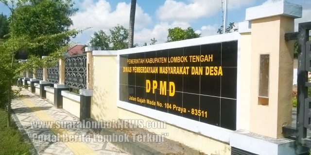 Lampu Lampion DPMD Lombok Tengah  di Embat Maling