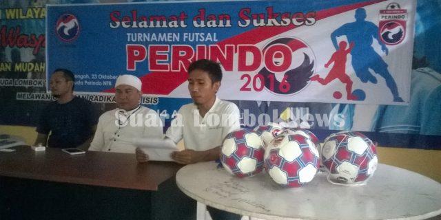 Pemuda Perindo NTB Selenggarakan Turnamen Futsal 2016
