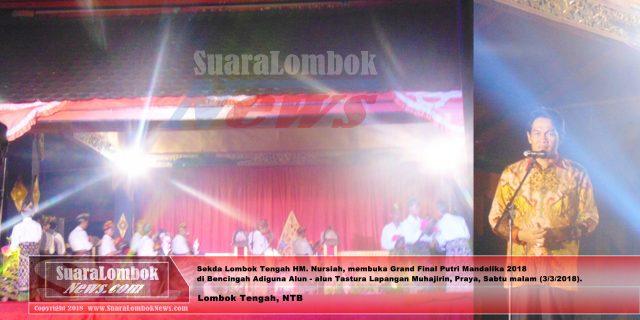 15 Finalis Putri Mandalika 2018 Bertarung di Malam Grand Final