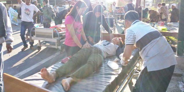 Terkini, 7 Warga Lombok Timur dan 1 WNA Malaysia Tewas Akibat Gempa 6, 4 SR