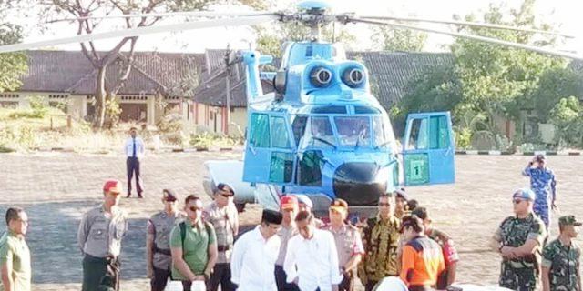 Presiden RI Jokowi Temui Warga Korban Gempa 6, 4 SR