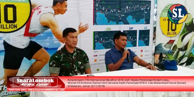 Tentara Usul ke Pemprov NTB, TNI Internasional Marathon Jadi Event Tahunan