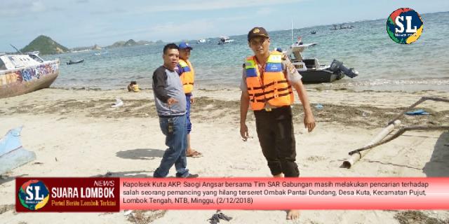 Sandi Hilang Ditelan Ombak Pantai Laut Selatan Lombok Tengah
