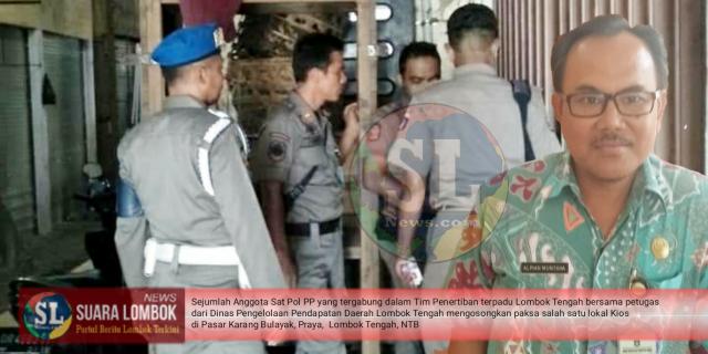 Ini Alasan Pemkab Lombok Tengah Usir Penyewa Kios Pasar Karang Bulayak