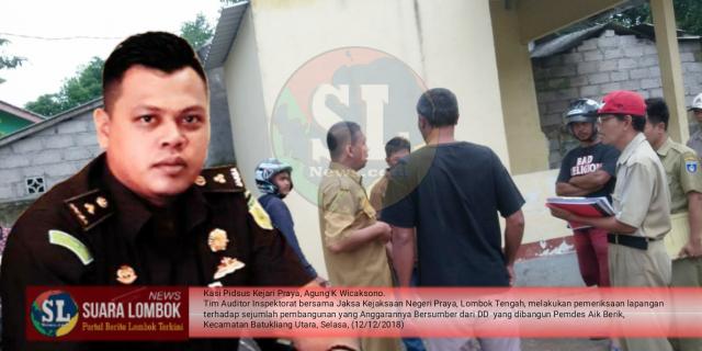 Jaksa Dalami Kasus Dugaan Korupsi ADD dan DD Aik Berik Senilai Rp. 800 juta