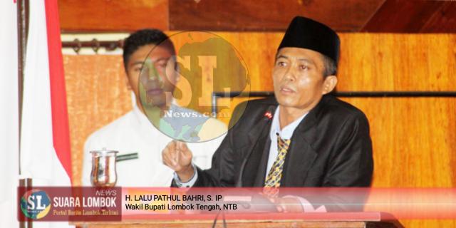 Lalu Pathul Jawab Pertanyaan DPRD Tentang Ranpaerda RPJMD Lombok Tengah