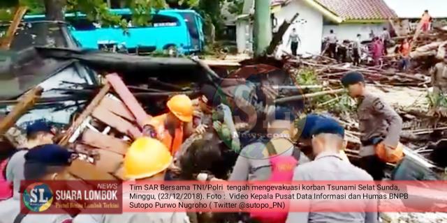 Pukul 10.00 WIB. Korban Tsunami Selat Sunda Bertambah Jadi 62 Orang, Termasuk Personil Grup Band Seventeen