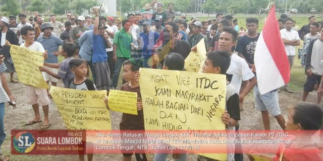 ITDC Dituntut Kembalikan Tanah Adat dan Budaya Milik Masyarakat