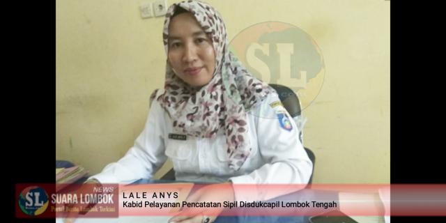 Disdukcapil Lombok Tengah Targetkan 65 Ribu Keping KIA