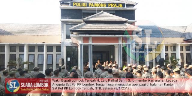 Wabup Lombok Tengah Minta Satpol PP Tegas Dalam Tegakkan Perda