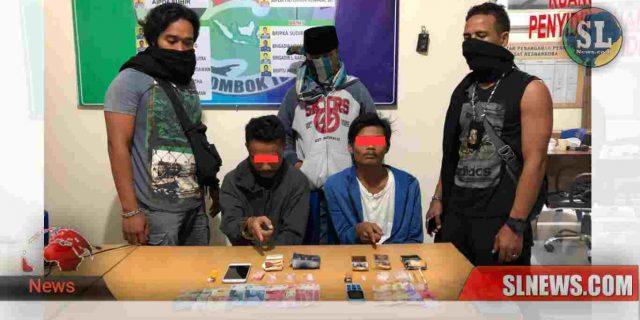 Transaksi di Depan Kantor Desa Kuta, Pengedar Sabu Ditangkap Polisi