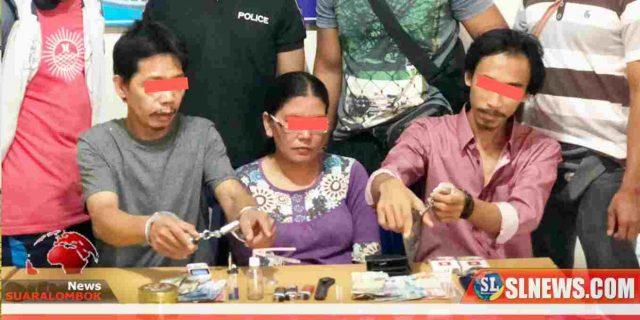 Jual Sabu Dirumah, Fuad Bersama Istrinya Ditangkap Polisi