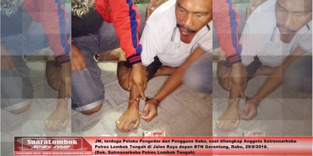 Kedapatan Bawa Dua Bungkus Sabu, JM Diringkus Polisi