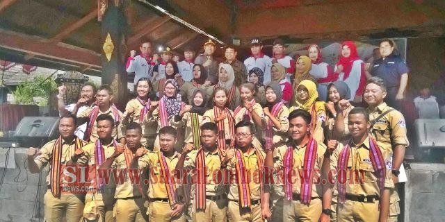 Peserta  Kirab Pemuda Nusantara 2017 Tiba di Lombok Tengah