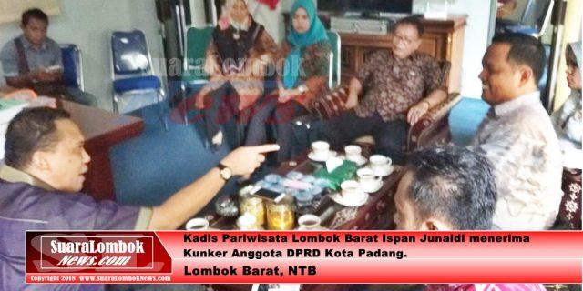 """Lirik """"SekotongMendunia"""" Dewan Kota Padang Kujungi Lobar"""