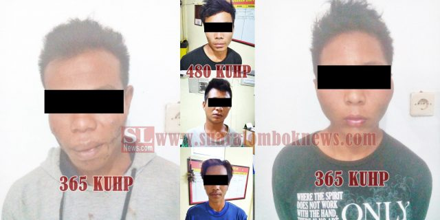 2 Pelaku Curas dan 3 Penadah, Korban Wisatawan Asing di 8  TKP Diringkus Polisi