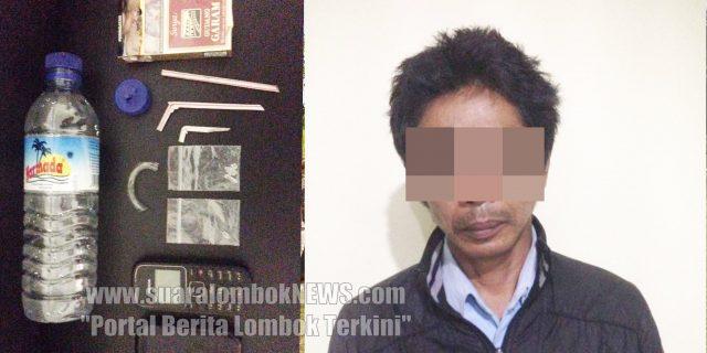 Edarkan Sabu, Oknum Pagawai PDAM Lombok Tengah Ditangkap Polisi