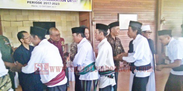 HM. Suhaili FT Lantik 115 Anggota BPD
