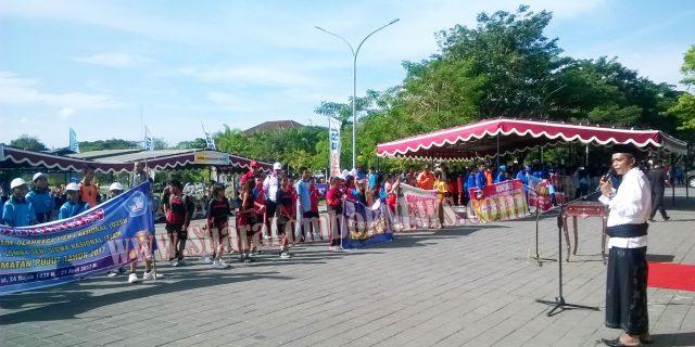 Wabup Buka O2SN, SD, SMP Tingkat Kabupaten Lombok Tengah 2017
