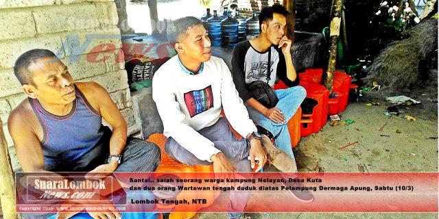 Kondisi Dermaga Apung Kuta, Gelangan Hancur, Pelampung  Kabur