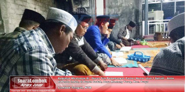 Di Posko Suhaili – Amin Ada  Khataman Al – Quran 24 Jam