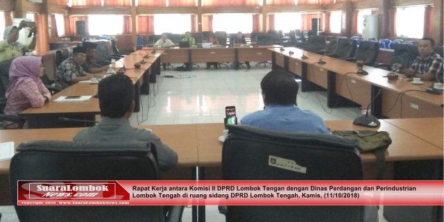 Komisi II DPR Cecar Disperindag Soal Proyek Revitalisasi Pasar di Lombok Tengah