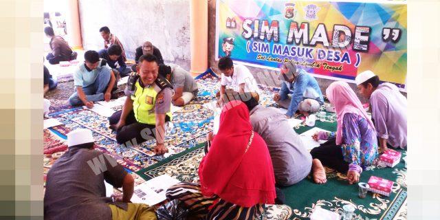 Polres Lombok Tengah Gelar SIM MADE