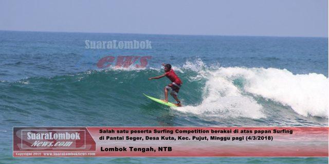 Surfing Competition 2018 di Gelar di Pantai Seger
