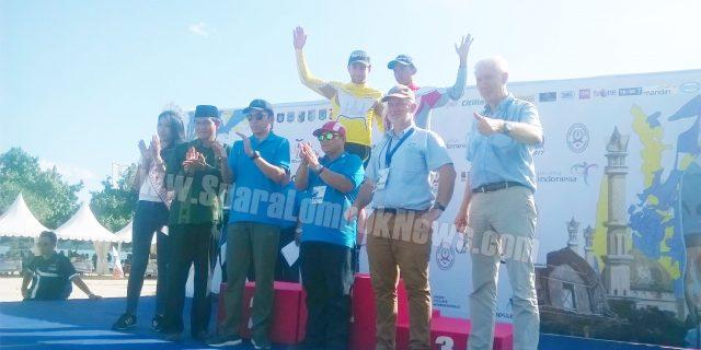 Tour De Lombok Mandalika,  Pembalap  dari 19 Negara Disabut Meriah di Lombok Tengah
