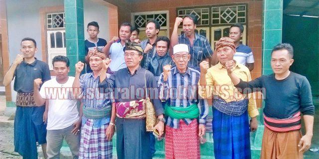 Jelang Kedatangan DPP Gerindra, Warga Desa Tanak Awu Siaga Satu