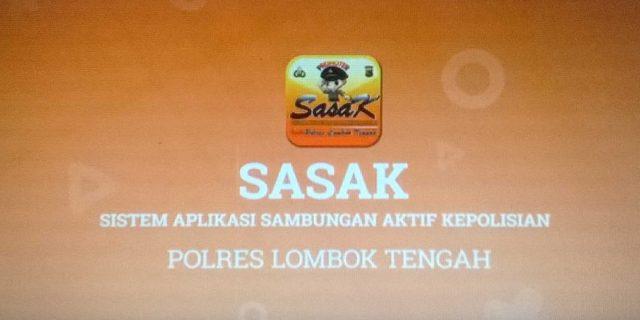 """Polsek Pratim Mulai Sosialisasikan Aplikasi """"SASAK"""""""