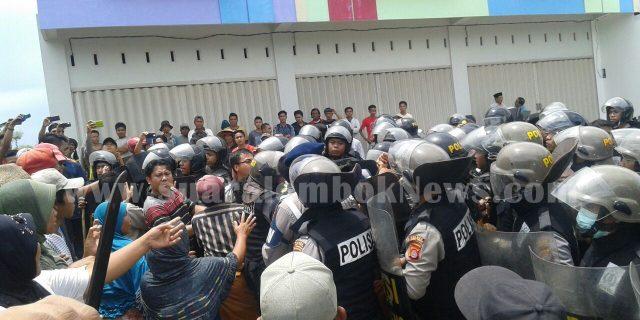 Mediasi Gagal,  Eksekusi Lahan di Batujai Berlangsung Ricuh