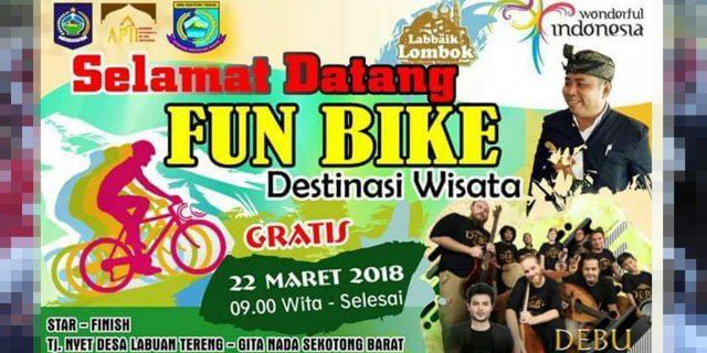 Catat , Ini Rute Labbaik Lombok Fun Bike 2018