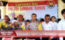 Ini Hasil Ops Pekat Gatarin Polres Lombok Barat Selama 14 hari