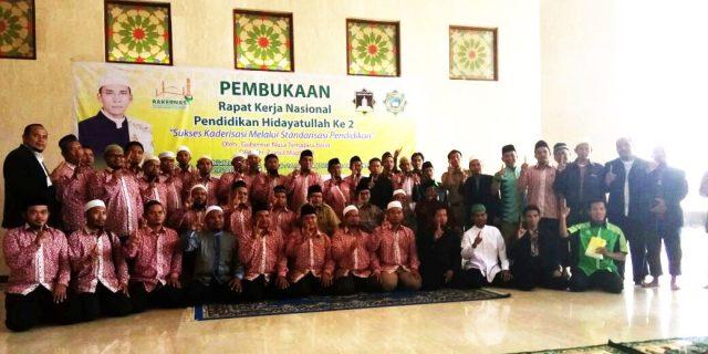 Sekda NTB  Buka Rakernas Pendidikan Hidayatullah