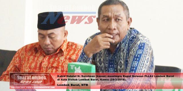 FLLAJ Lombok Barat Serang Dinas PUTR