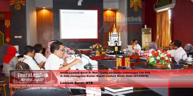 Dinilai Tim PPD, Lombok Barat Siap Jadi Yang Terbaik
