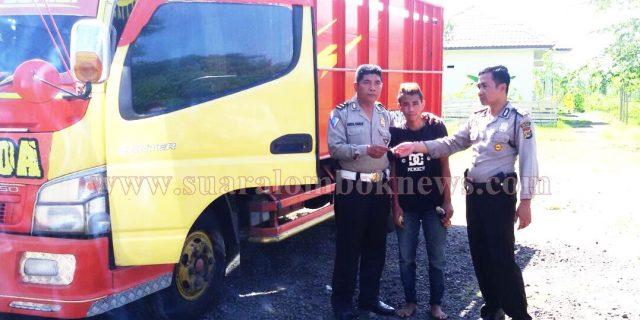 Lakalantas, Nabrak di Sweta Ditangkap di Loteng