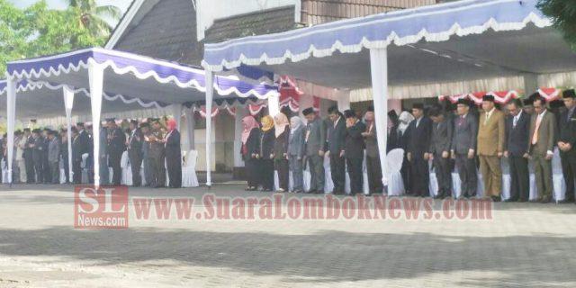 Dandim 1620/Lombok Tengah Pimpin Upacara Kesaktian Pancasila