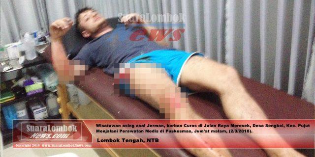 Lagi, Turis Jerman Dibegal di Lombok Tengah